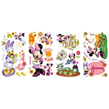 RoomMates RMK2075SCS Mickey and Friends Minnie Mouse Barnyard Cuties Peel and Stick Wall Decals