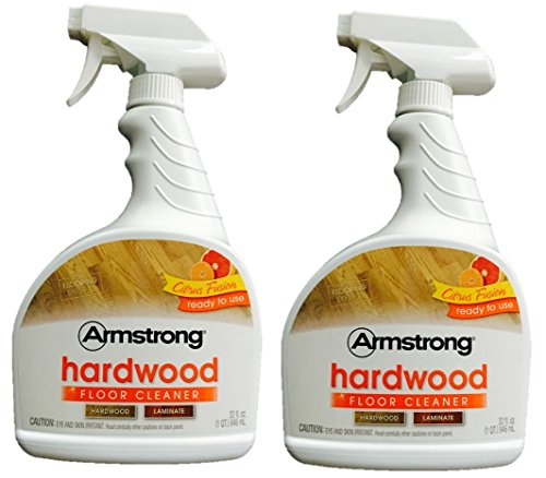 Armstrong Hardwood and Laminate Floor Cleaner 32 oz Citrus Fusion 946 mL (Finish of 2)