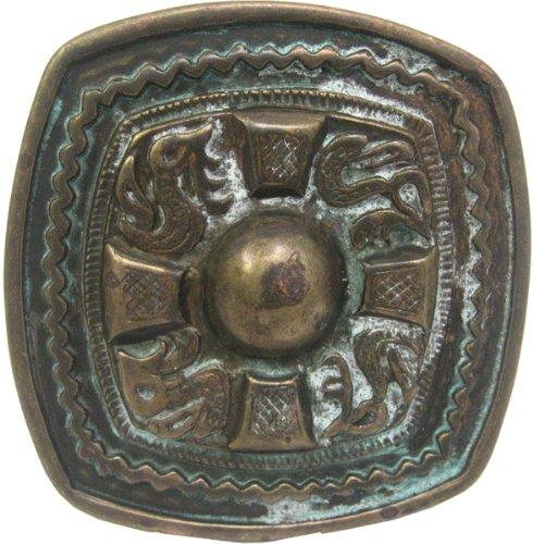 Antique Cross Belt (Antique Brass Celtic Cross Western Belt Buckle)