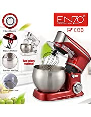 ITAENZO Food Processor 6 Liters Steel Bowl with Handle 1000 Watts Red 5in1Multifunction Kitchen Appliances Household Tools Cooking(√COD)