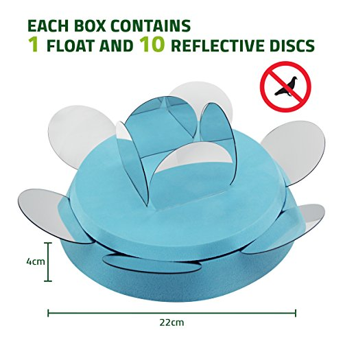 De bird swimming pool repellent scare ducks off and keep geese away from pond works with for Keep ducks out of swimming pool