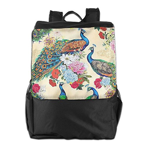 Personalized Shoulder Backpack Colorful Adjustable Men Strap HSVCUY Dayback Peacocks Women For School Camping Travel And Storage Outdoors zqwxxpdf