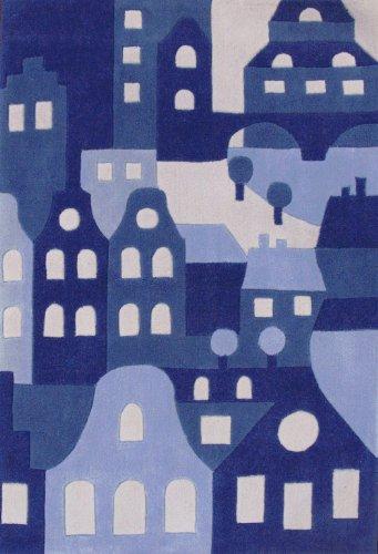 Art for kids tap11g alfombra infantil color azul for Alfombra infantil azul