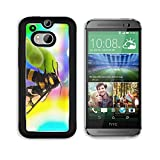 MSD Premium HTC One M8 Aluminum Backplate Bumper Snap Case IMAGE ID 29941964 wasp Vespula germanica close up with colourful background