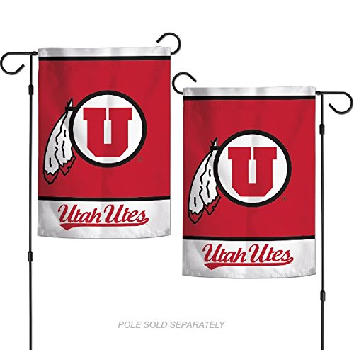 "WinCraft NCAA Utah Utes 12.5"" x 18"" Inch 2-Sided Garden Flag"