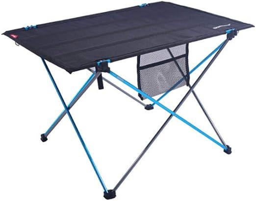 ZPF Mesa Plegable portátil, Patas de Mesa de Aluminio Plegables ...