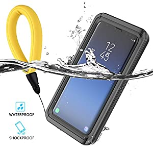 Yuqoka Compatible Samsung Galaxy S9 Plus Case Waterproof Transparent