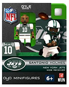 NFL New York Jets Santonio Holmes Figurine