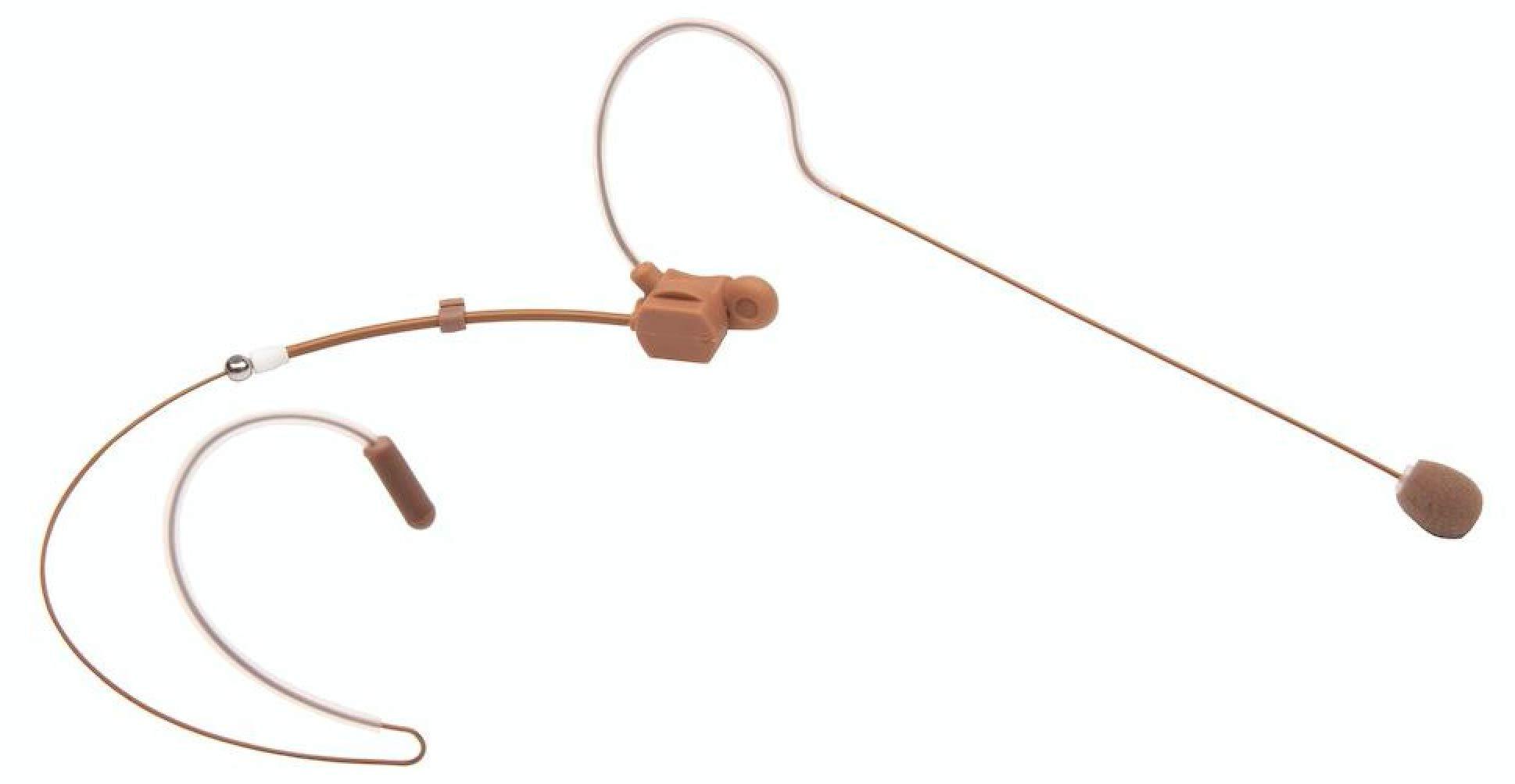 Thor Hammer SE-11 Single Ear Headset Microphone 3.5mm for Sennheiser Evolution HM-SEO11-T-3.5MM (Brown)