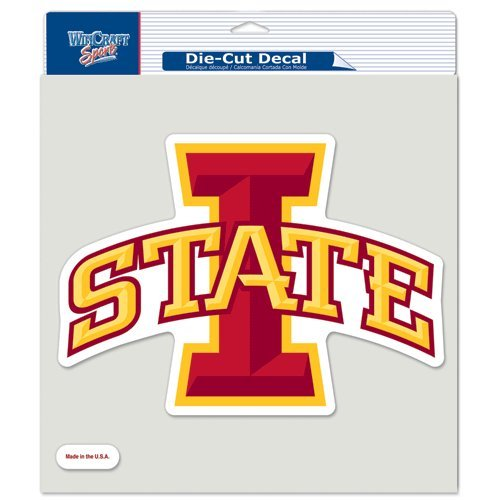WinCraft NCAA Iowa State Cyclones Die-Cut Color Decal, 8