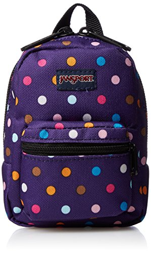 (JanSport Unisex Lil' Break Purple Spot-O-Rama Backpack)
