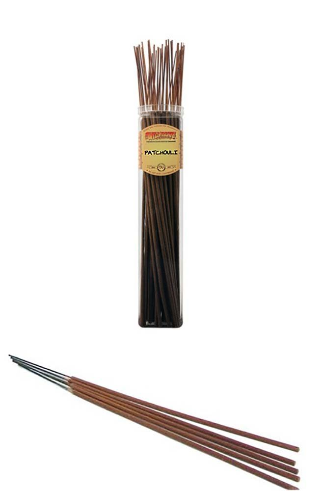 PATCHOULI - Wild Berry Highly Fragranced Large Incense Sticks''Biggies'' (50 Pack), 19'' Tall
