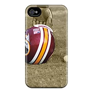 Acsdcover Cases Covers Protector Specially Made For Iphone 4/4s Washington Redskins