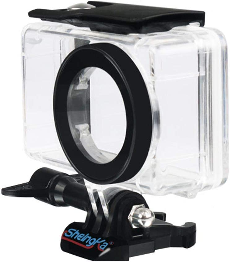Carcasa protectora impermeable Carcasa carcasa compatible con Xiaomi Xiao Mi Mijia 4K cámara de acción para buceo Snorkeling Natación Surf Fotografía Subacuática