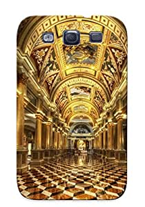 New Style Trolleyscribe Hard Case Cover For Galaxy S3- Architecture
