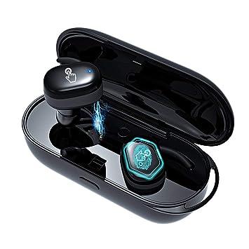 Auriculares inalámbricos, Auriculares Bluetooth, Auriculares Deportivos con Estuche Carga