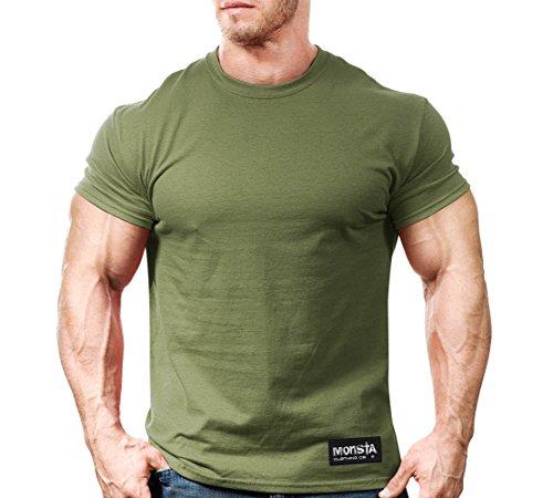 Classic Army Green T-shirt - 2
