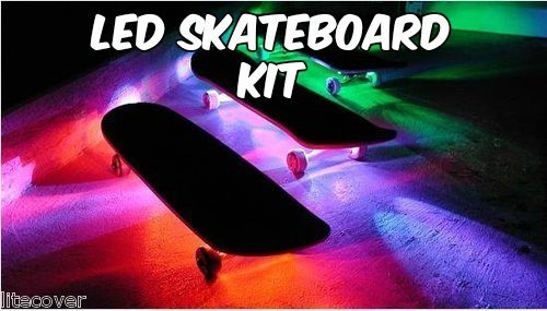 Led Strip Lights For Skateboards
