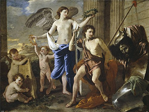 [Oil Painting 'Poussin Nicholas The Triumph Of David Ca. 1630 ' Printing On High Quality Polyster Canvas , 16 X 21 Inch / 41 X 54 Cm ,the Best Foyer Decor And Home Gallery Art And Gifts Is This Imitations Art DecorativePrints On] (French Fries Costume Toddler)