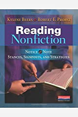 Reading Nonfiction: Notice & Note Stances, Signposts, and Strategies Paperback
