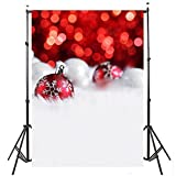 SODIAL(R) Vinyl Valentine Day Christmas Photography Backdrop Photo Background red