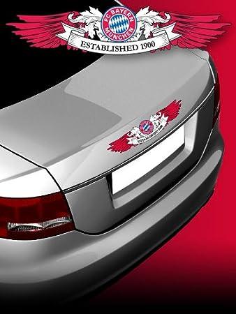Fahrzeugaufkleber Aufkleber Fc Bayern München Wings Kl