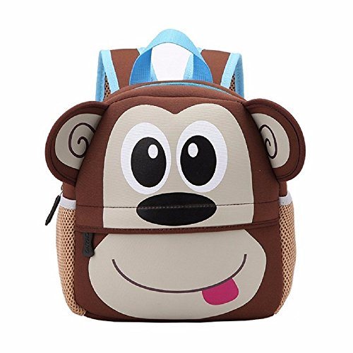 Toddler Boys Monkey (IGBBLOVE Baby Boys Girls Toddler Pre School Backpack Children Backpacks Bags, Monkey)