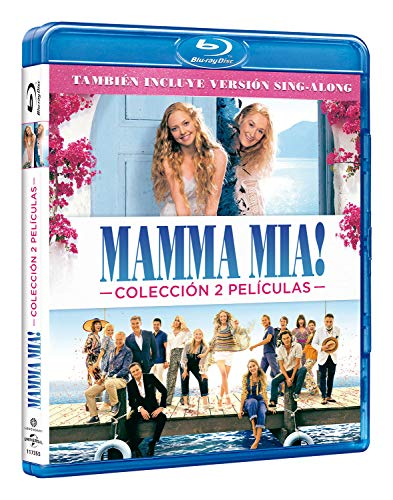 Pack: Mamma Mia 1 + Mamma Mia 2 [Blu-ray]: Amazon.es: Lily James ...