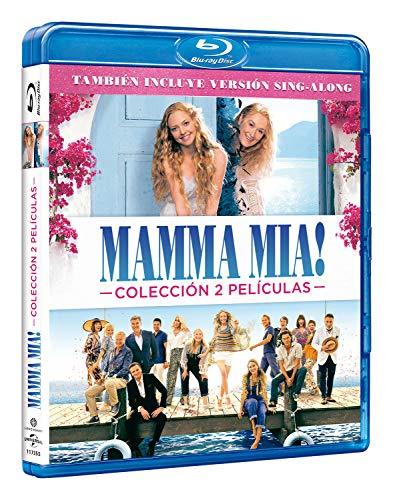 Pack: Mamma Mia 1 + Mamma Mia 2 [Blu-ray]: Amazon.es: Lily James ...