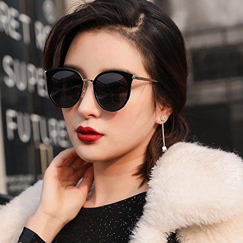LLZTYJ Gafas De Sol/Gafas De Sol De Mujer Cara Redonda Gafas ...