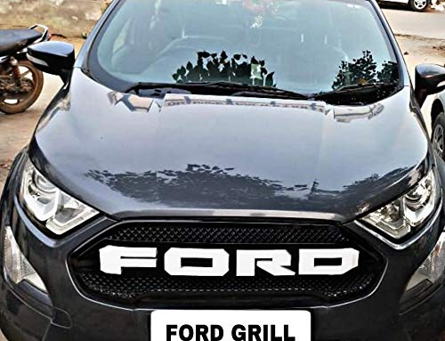 Auto Concept Premium Quality Front Grill For New Ford Ecosports With White Alpha Letters Buy Online In El Salvador At Elsalvador Desertcart Com Productid 138972387