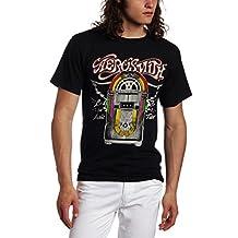 FEA Merchandising Men's Aerosmith Let The Music Jukebox T-Shirt