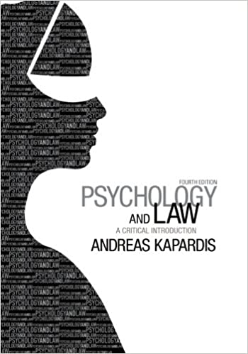 Amazon psychology and law a critical introduction amazon psychology and law a critical introduction 9781107650848 andreas kapardis books fandeluxe Choice Image