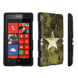 DuroCase ? Nokia Lumia 521 Hard Case Black - (Army)