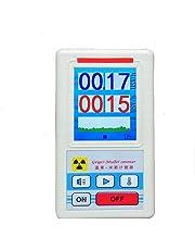 Fesjoy Pantalla Pantalla Geiger Contador Detector de radiación nuclear Dosímetro Personal Detectores de Mármol Beta Gamma