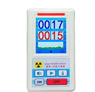 NJPOWER Counter Nuclear Radiation Detector Dosimeters Marble Tester With Display Screen Electromagnetic Radiation Detectors Tools R08