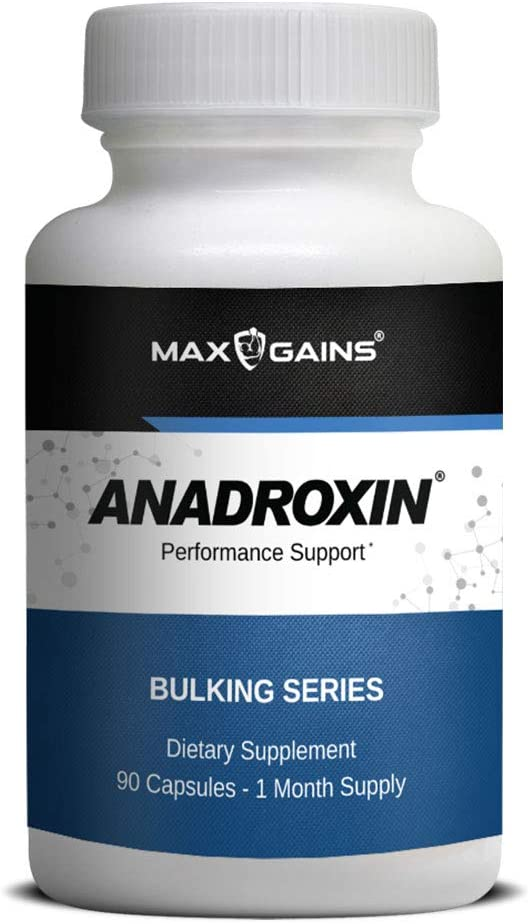 Amazon.com: Anadroxin by Max Gains   Natural Alternative That ...
