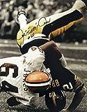 #8: Turkey Jones Autographed Cleveland Browns 16x20 Photograph - Certified Authentic