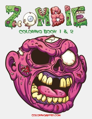 Zombie Coloring Book 1 &