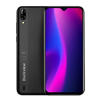 Blackview A60 3G Android 8.1 Dual SIM Teléfono Libre - 6.1 Pulgadas (19.2: 9) Vista de Pantalla Complete Móvil Smartphone, Quad Core 1.3GHz 1GB+16GB, ...