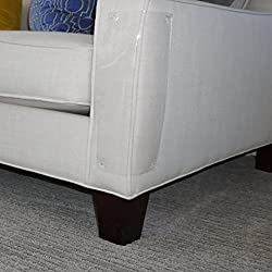 """Furniture Defender Cat Scratching Guard - Two Guards Per Package - (18""""L x 5.5""""W) - Furniture Protectors - Best Protection from Pets Scratching or Clawing Your Sofa, Couch, Chair or Other Upholstered Furniture - Made in USA"""