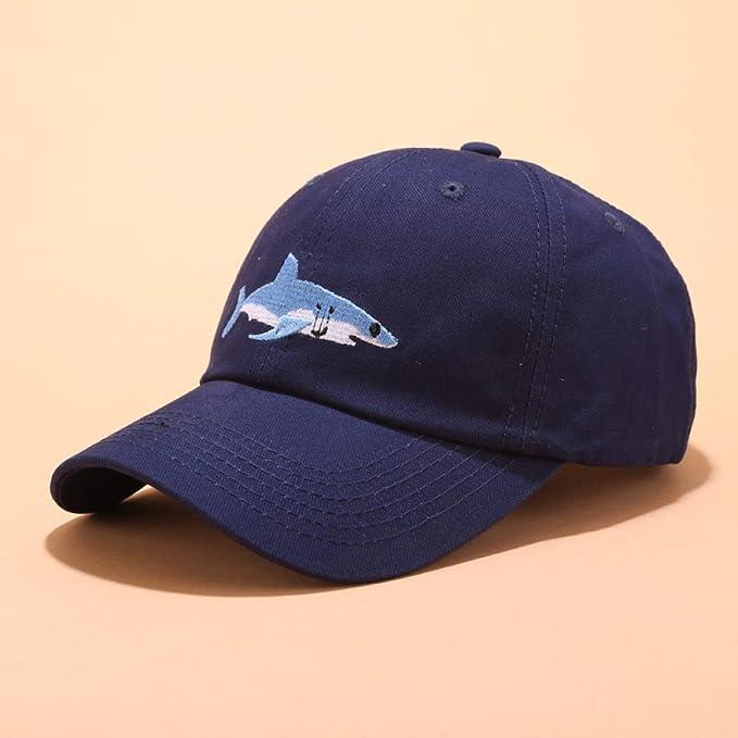 sdssup Gorra de béisbol con Bordado de tiburón Gorra Femenina ...