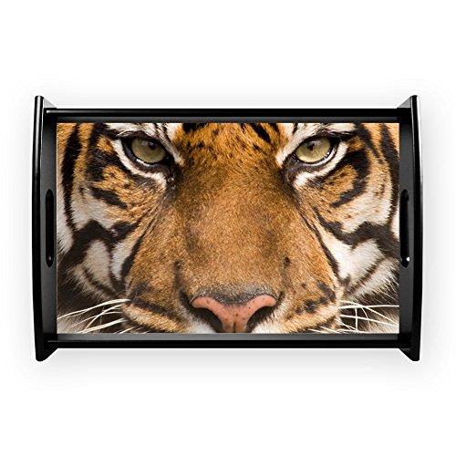 Small Serving Tray Sumatran Tiger Face