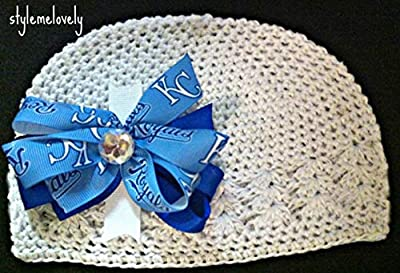 Kansas City Royals Crocheted Kufi Hat, Newborn- Adult Sizes