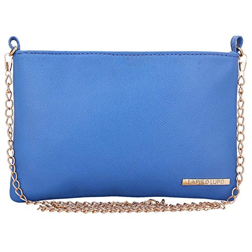 Lapis O Lupo Bluish Women's Sling Bag Sky Blue Design tascabile multifunzionale