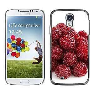 Be Good Phone Accessory // Dura Cáscara cubierta Protectora Caso Carcasa Funda de Protección para Samsung Galaxy S4 I9500 // Strawberry