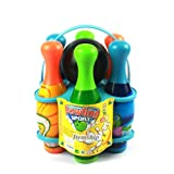 Itemship- Home Bowling Alleys Children multicolor cartoon Bowling set