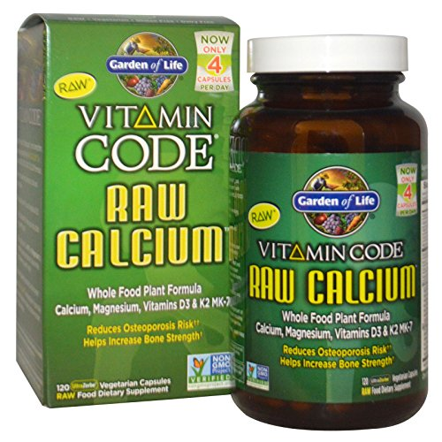 Garden of Life, Vitamin Code, Raw Calcium, 120 UltraZorbe Vegetarian Capsules