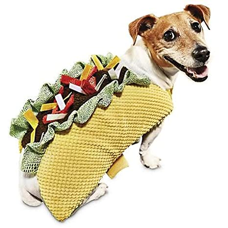 c19f625008d Bootique Taco Dog Costume - Large (Large)