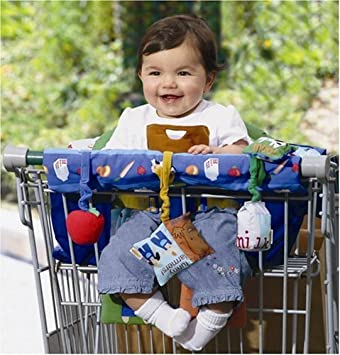 Shopping cart covering for baby chubby have